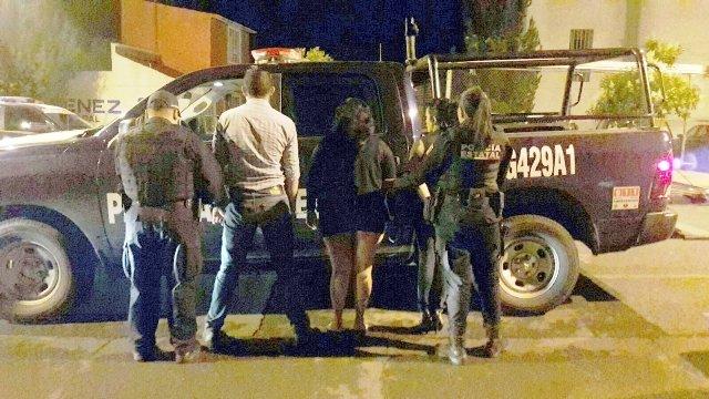 ¡Detuvieron a 3 sujetos y 2 mujeres con armas de fuego y droga en Aguascalientes!