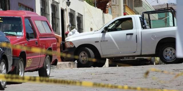 ¡Ejecutaron a un hombre e hirieron a otro en una mudanza en Zacatecas!