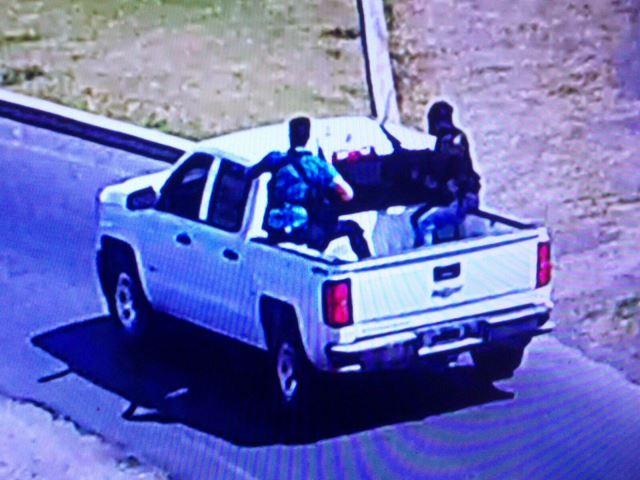 ¡Sujetos armados balearon una cámara de videovigilancia en Nochistlán, Zacatecas!