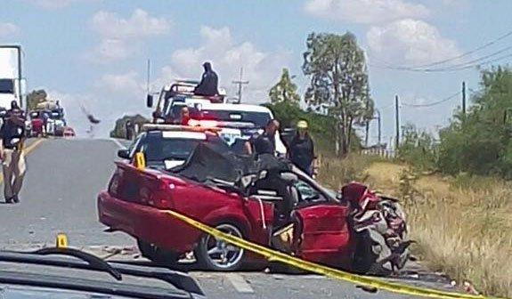 ¡Choque en la carretera Fresnillo-Río Florido deja saldo de un muerto y 7 lesionados!