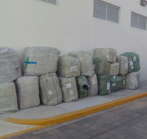 ¡La Policía Federal aseguró bolsas y monederos transportados de manera irregular en Aguascalientes!