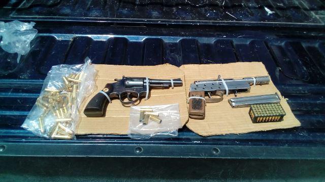 ¡Policías estatales detuvieron a 4 sujetos con armas de fuego en Aguascalientes!