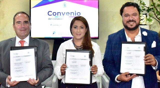 ¡La alcaldesa Tere Jiménez establece nueva alianza a favor del desarrollo económico de Aguascalientes!