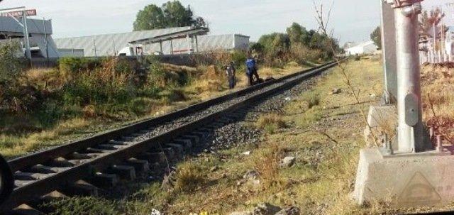 """¡Viajaba de """"mosca"""" en el tren, cayó y se fracturó el cráneo en Aguascalientes!"""