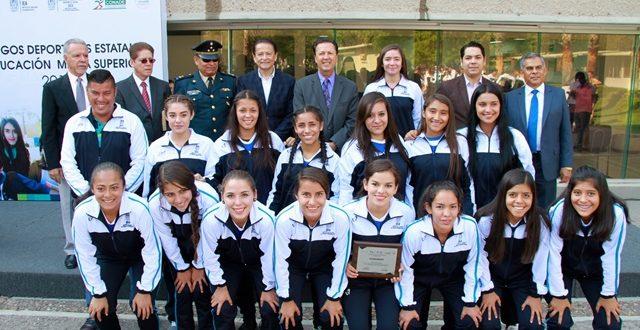¡Estudiantes de bachillerato representarán a Aguascalientes en Juegos Deportivos Nacionales!