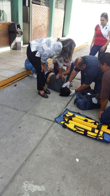 ¡Estudiante de CONALEP en Aguascalientes se salvó de morir tras una caída de 12 metros de altura!