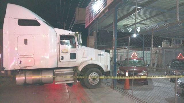 ¡Grave hombre baleado por un trailero en Aguascalientes!