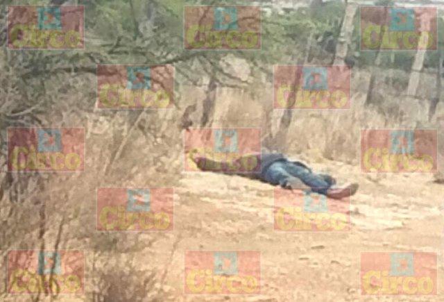 ¡Encontraron el cuerpo de un hombre con huellas de ejecución en Fresnillo!