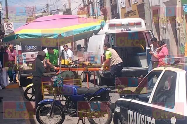 ¡Grave niño atropellado por un motociclista en Unión de San Antonio, Jalisco!