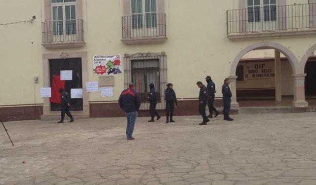 """¡Secuestraron al comandante """"Sierra"""" de la Policía Municipal de Morelos, Zacatecas!"""