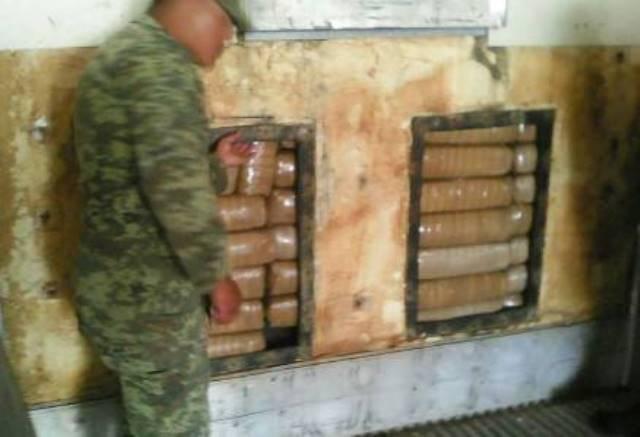 ¡Militares aseguraron 147.5 kilos de marihuana en Villa de Cos, Zacatecas!