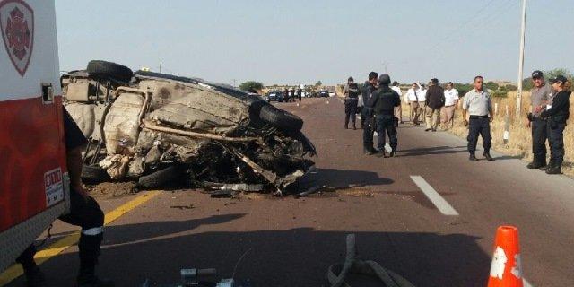 ¡Delegado de Tránsito en Villanueva murió tras fuerte accidente en Zacatecas!
