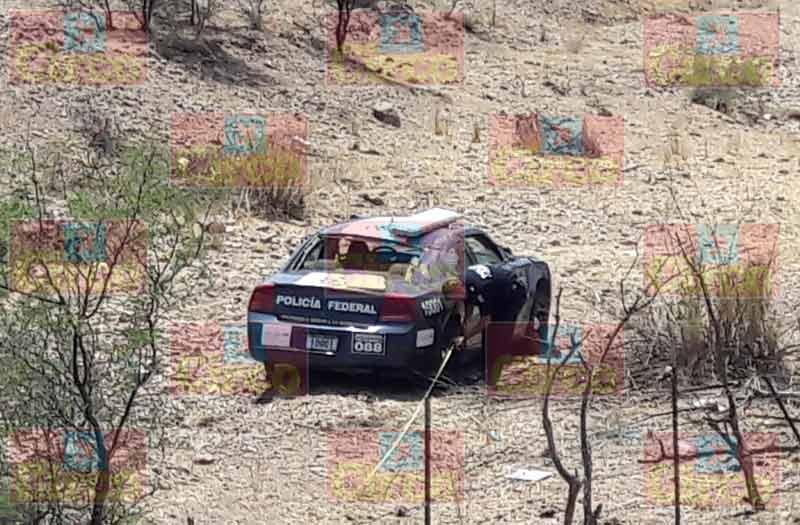 ¡2 policías federales resultaron lesionados tras volcar su patrulla en Aguascalientes!