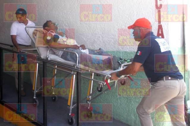 ¡Hombre fue apuñalado en Lagos de Moreno y está grave!