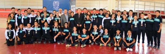 ¡Titular del IDEA felicita a medallistas de Olimpiada y Nacional Juvenil de Ciclismo y Patines sobre Ruedas!