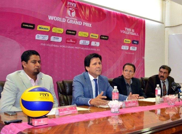 ¡Se presentó el World Grand Prix de Voleibol Femenil!