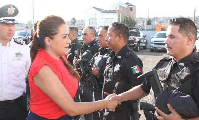 ¡Fortalecer la seguridad, prioridad para la alcaldesa Tere Jiménez!