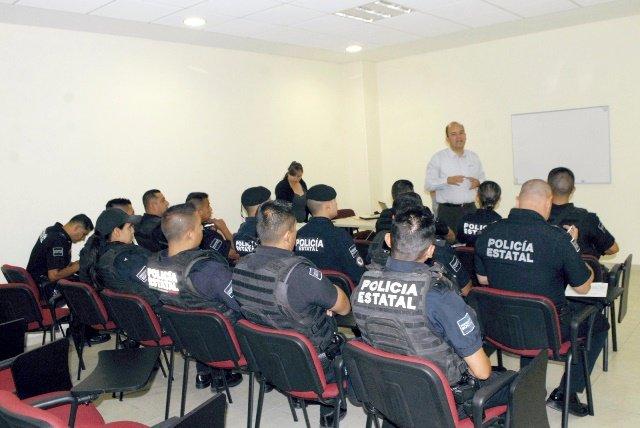 ¡Elementos de la Policía Estatal participan en curso impartido por la embajada francesa!