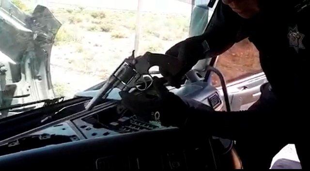 """¡Policía federal aseguró armas de fuego, cartuchos y 11 kilos de """"crystal"""" en Zacatecas!"""
