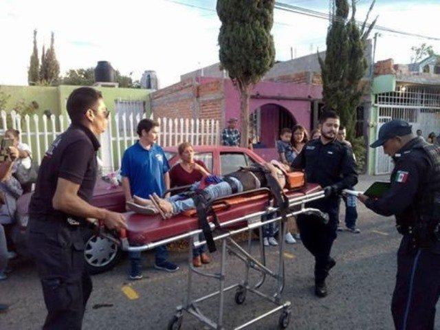 """¡Niña de 9 años agoniza al ser atropellada por un """"farruko"""" en Aguascalientes!"""