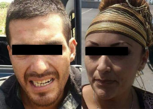 ¡Tras persecución detuvieron a pareja en una camioneta robada en Aguascalientes!