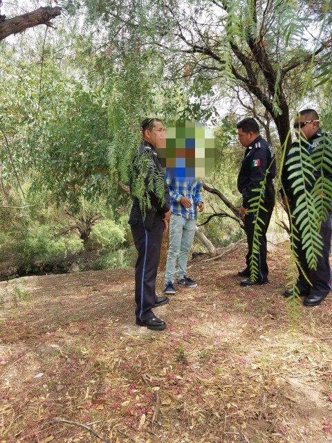 ¡Niño de 12 años intenta suicidarse al pretender lanzarse al Río San Pedro en Aguascalientes!