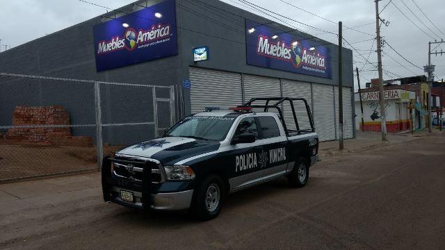 ¡Banda de ladrones saqueaba mueblería y fueron detenidos por la Policía Preventiva en Aguascalientes!
