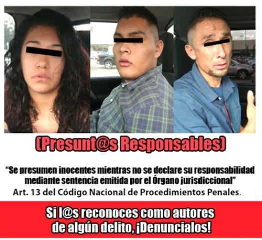 ¡En espectacular operativo detuvieron a 2 sujetos y 1 mujer en un centro comercial en Aguascalientes!