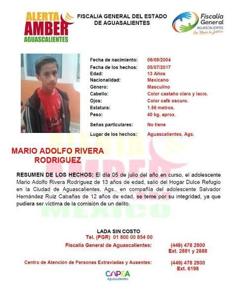 ¡2 adolescentes se fugaron de un refugio en Aguascalientes y se activó la Alerta Amber!