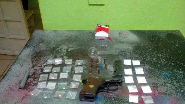 """¡Detuvieron a """"El Guandajas"""" en Fresnillo y le aseguraron una pistola y droga!"""