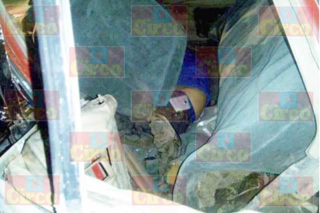 ¡1 muerto y 3 lesionados en fuerte carambola en Lagos de Moreno!