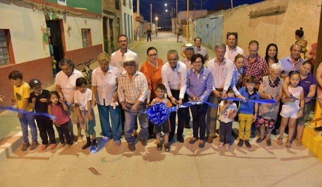 ¡Dignifica el Gobierno de Jesús María las calles en la delegación de J. Gómez Portugal!