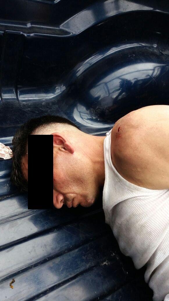 ¡Tras una persecución atraparon a un robacoches en Aguascalientes, además lesionó a un policía estatal!