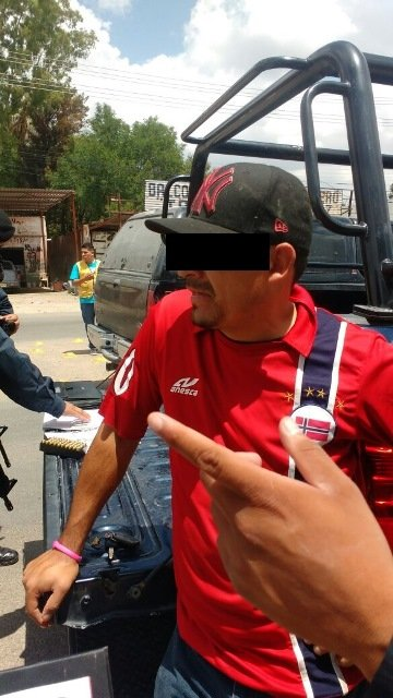 ¡Detuvieron a un sujeto con 46 cartuchos útiles en Aguascalientes!