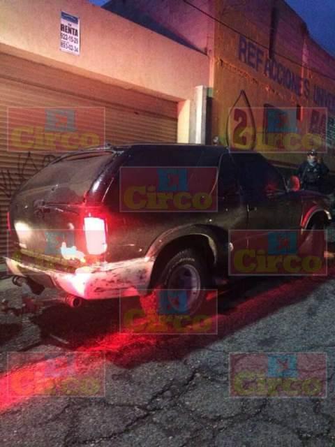 ¡Balacera y persecución en Guadalupe y Zacatecas: lesionados un elemento de la PEP y un sospechoso!