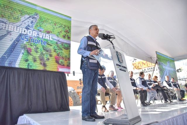 ¡El distribuidor vial, un proyecto de beneficio regional: Noel Mata Atilano!