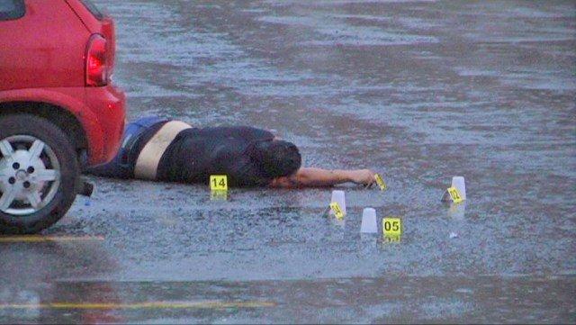 ¡Hombre fue ejecutado en el estacionamiento de una farmacia en Guadalupe, Zacatecas!