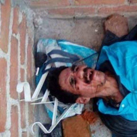¡Ladrón fue golpeado por vecinos del Ojo de Agua en Aguascalientes al intentar saquear una casa!