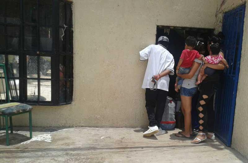 ¡Desequilibrado adolescente hirió de un hachazo a su papá en Aguascalientes!