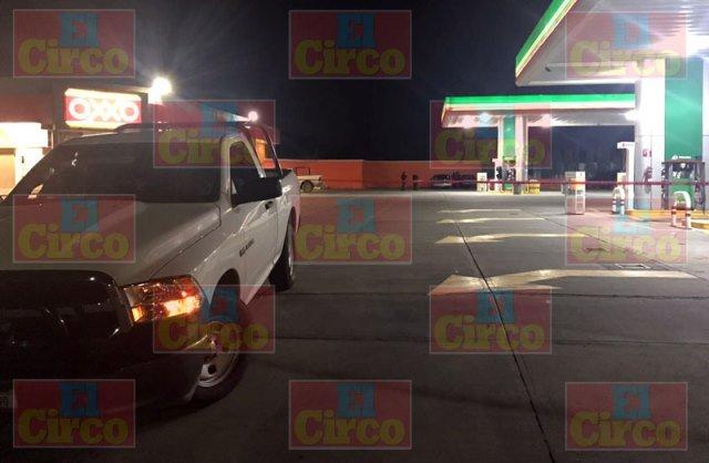 ¡Hombre herido en intento de ejecución cerca de una gasolinera en Fresnillo!