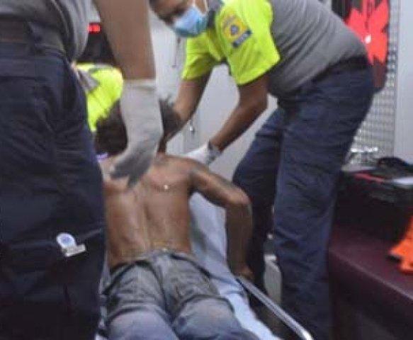 ¡Hombre fue quemado por su amigo de parranda en Aguascalientes!