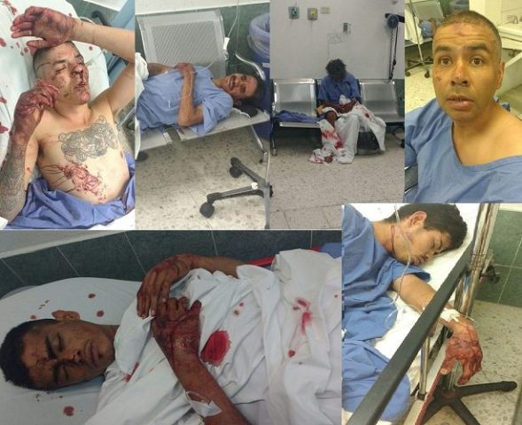 """¡""""Levantaron"""" y golpearon a 6 delincuentes en Aguascalientes!"""