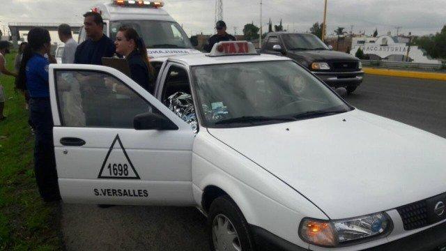 ¡Septuagenario muere a bordo de un taxi en Aguascalientes!