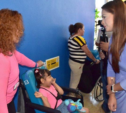 ¡Reconoce y apoya Tere Jiménez trabajo del CRIT de Aguascalientes!
