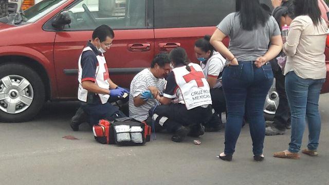 ¡Un percance vial a punto de terminar en tragedia en Aguascalientes!