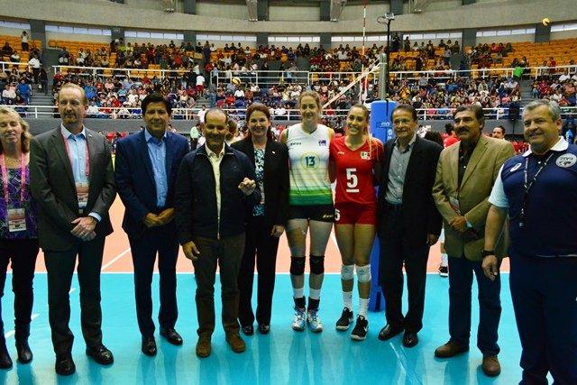 ¡Arrancó el World Grand Prix de Voleibol Femenil en Aguascalientes!