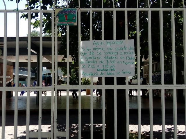 ¡Directores detienen documentos si no pagan cuotas escolares: PVEM!