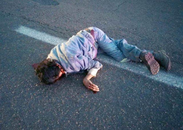 ¡Agoniza jornalero atropellado en la comunidad Nuevo Día en Fresnillo!