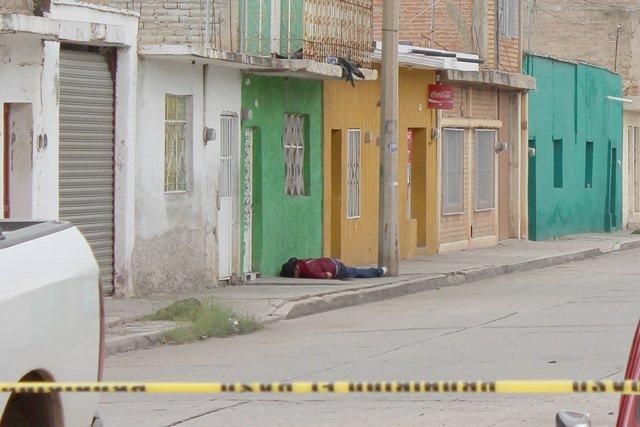 ¡Hombre fue ejecutado de un disparo en la colonia Maravillas, en Fresnillo!