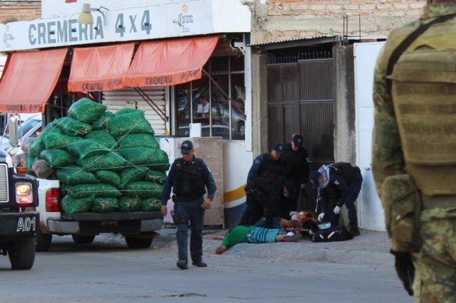 ¡Ejecutan a 2 empresarios chileros en la colonia El Olivar en Fresnillo!